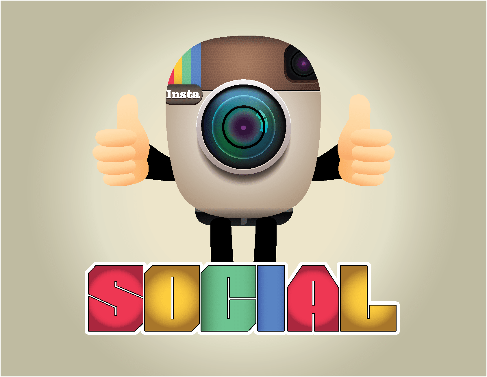 Social Media Logo Design Service (Designed by LogoSkill)