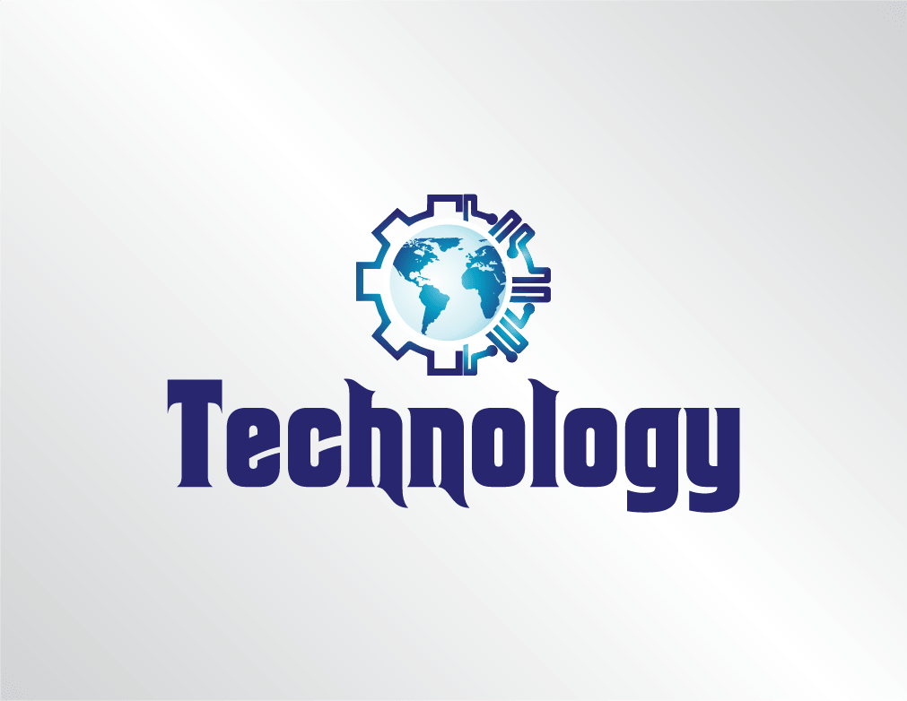 Technology World Logo (Designed by LogoSkill)